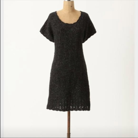 Anthropologie Dresses Anthro Sparrow Pointelle Variations Sweater